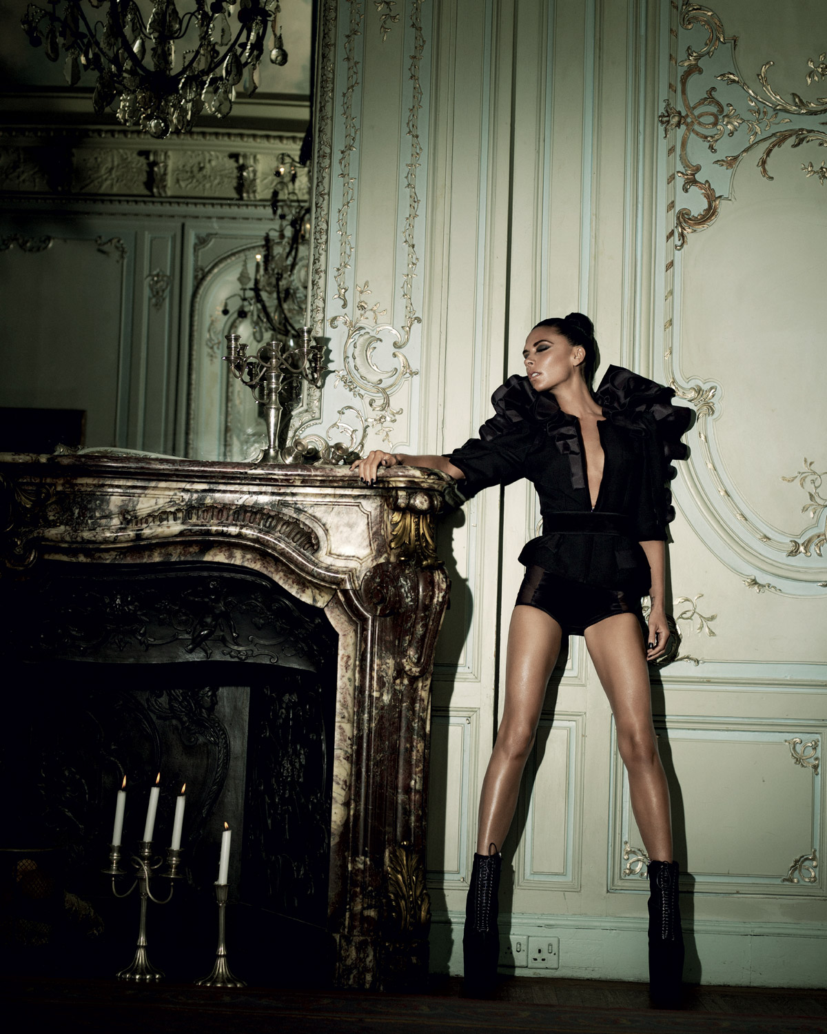 House of Usher Victoria Beckham by Alexi Lubomirski