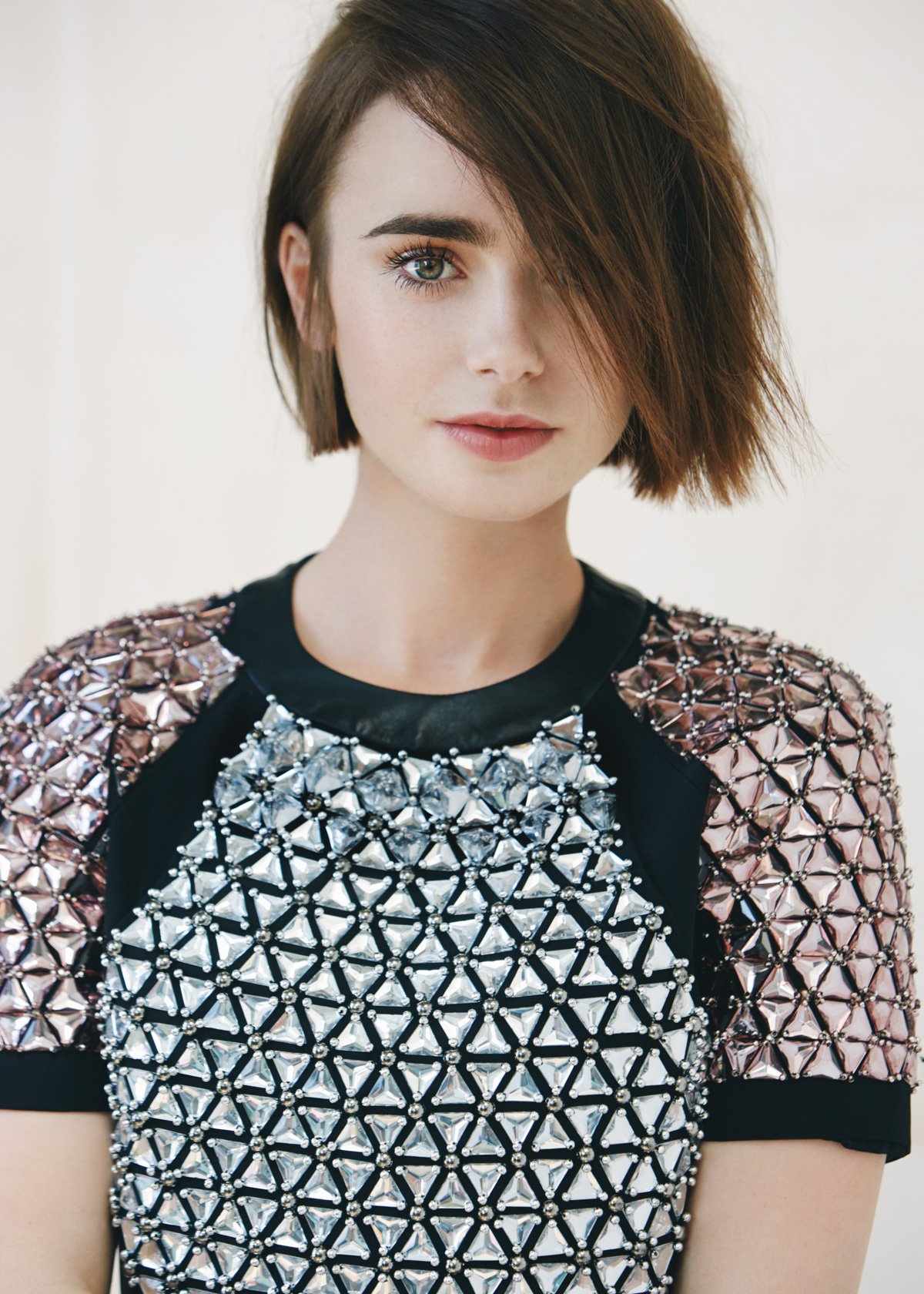 House Of Usher Lily Collins by David Roemer 01