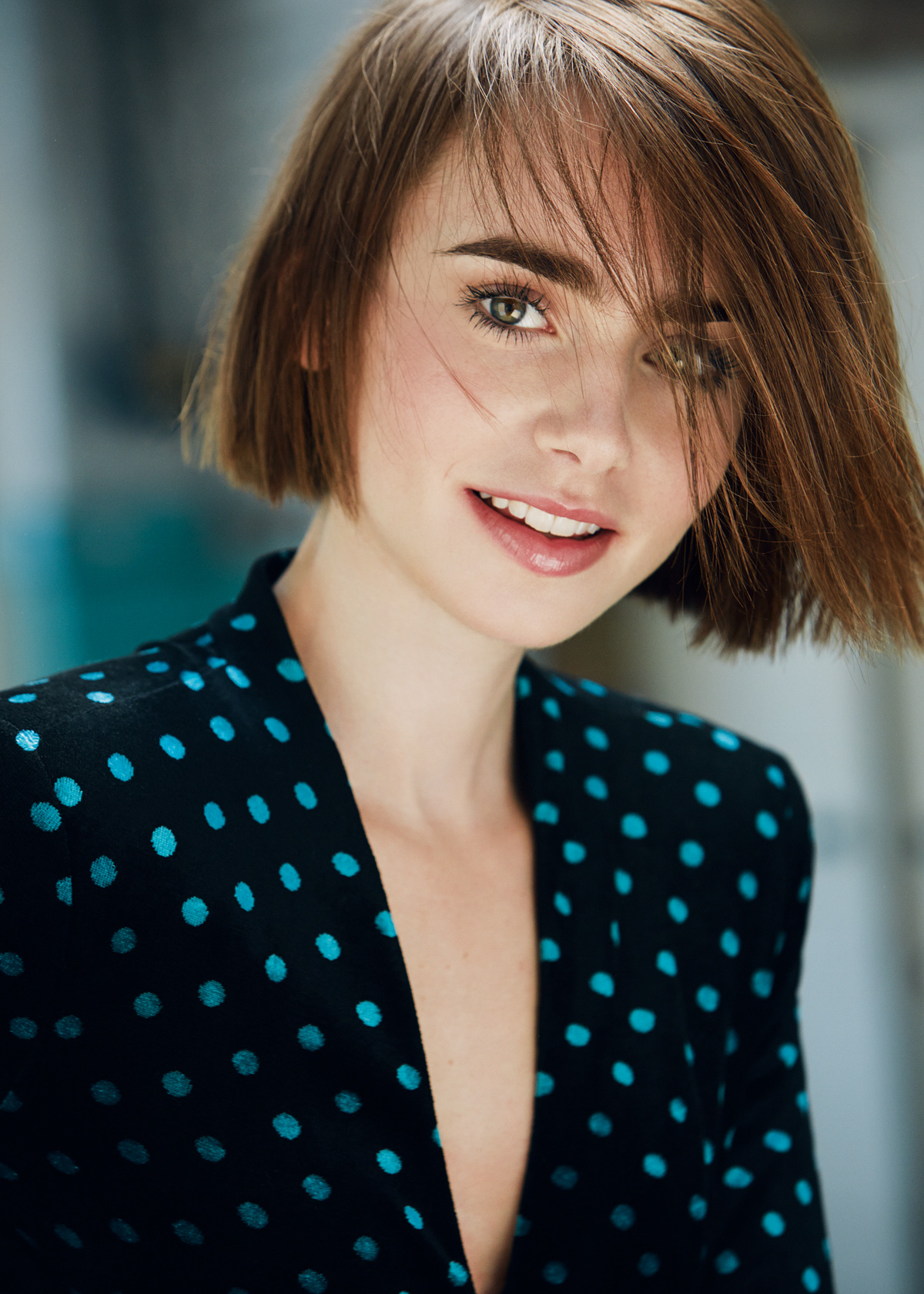 House Of Usher Lily Collins by David Roemer 10